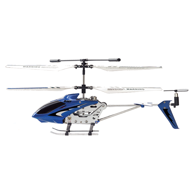 Syma S107G 3 Channel RC Blue Helicopter with Gyro