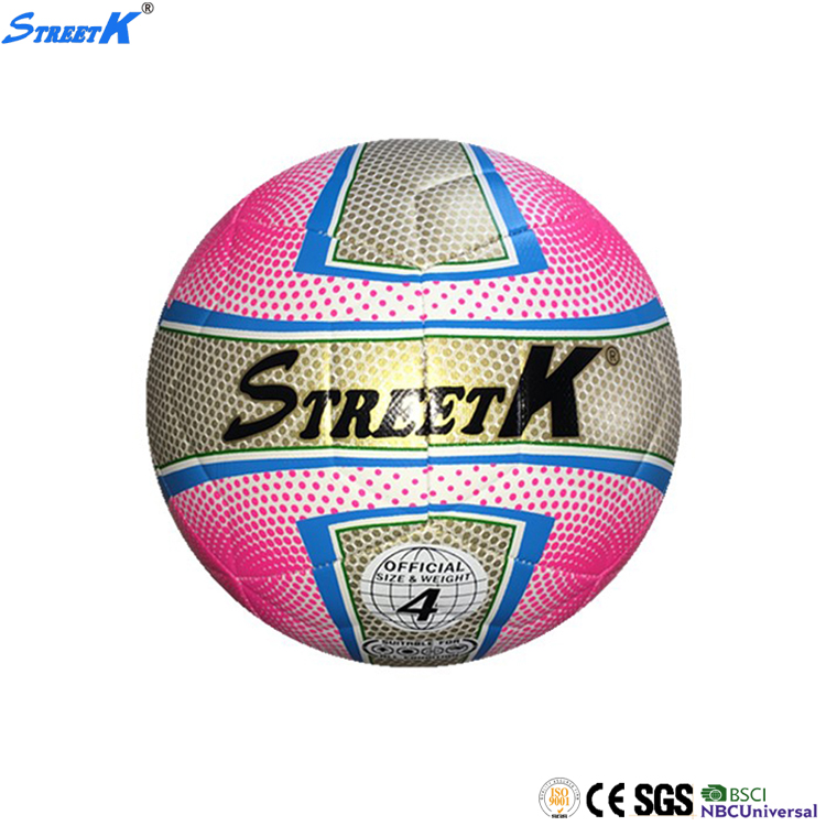 Streetk Brand wholesale football soccer ball leather professional official 5# pu soccer