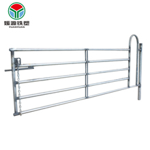 Safe and sturdy dairy cow cattle gate temporary hot sale horse cheap prefab fence panels
