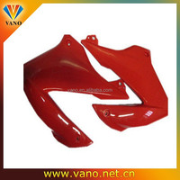 different color motorcycle covers AX100 red motorcycle side covers