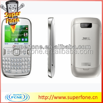ASHA302model 2.2inch cheapest metal qwerty mobile phone