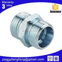 Ningbo Customize service bsp female 60 degree cone hose fitting Eaton carbon steel bottom price elbow NPT JIC Threaded adaptors