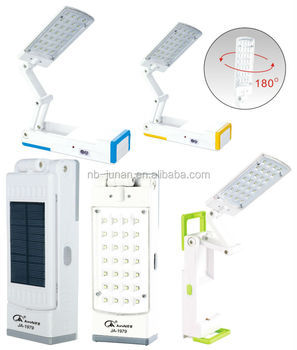 Solar LED desk lamp