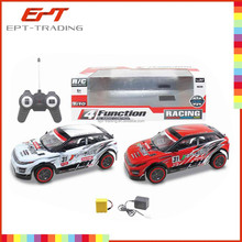 1:10 scale 4 function rc car with battery and charger