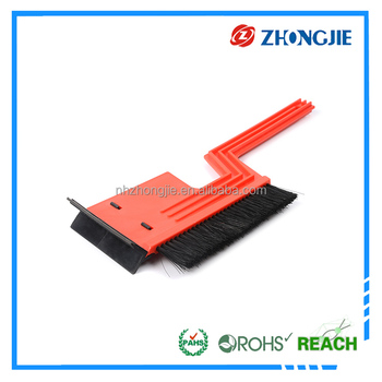 2 in 1 car use high quanlity ice scraper with snow brush