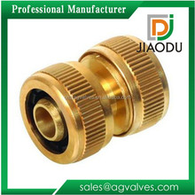For Hose Quick Connect Coupler Brass Pipe Fitting Equal Coupler Connection Swivel Coupler