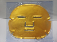 Skin Care Anti-Wrinkle & Resist Aging Crystal Collagen 24K Gold Face mask