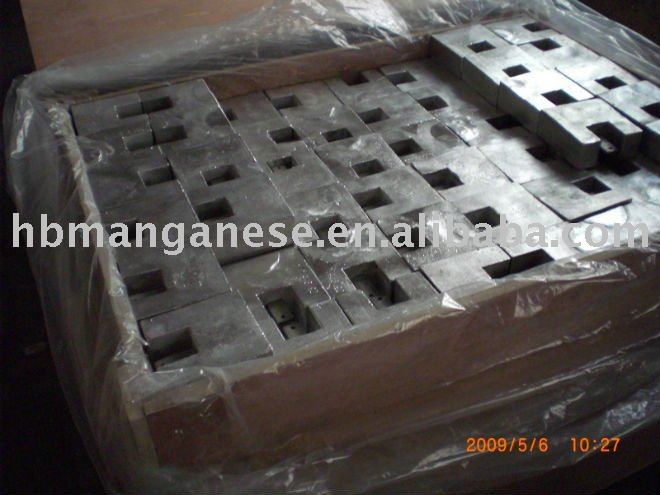 cast Mg-Mn magnesium metal sacrificial anode for cathodic protection and anti-corrosion