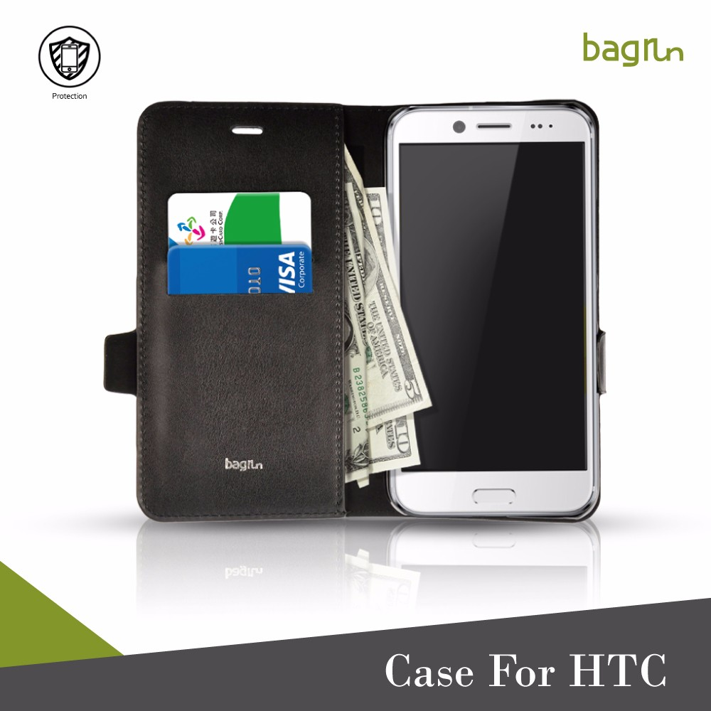 Mobile Phone Case Wallet With Credit Card Cash Holder For HTC