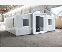 Panel Solid Prefab European oil field expandable container house