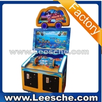 Competitive advantage colorful LED light amusement park equipment 2-6 players fishing arcade machine coin operated machine