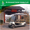 DC MOTOR 4 seaters electric tourist vehicle golf cart