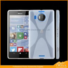 Phone Accessory Soft Mobile Phone Case Shell For Lumia 950 XL , 5.7 inch X Line TPU Case For Lumia 950 XL