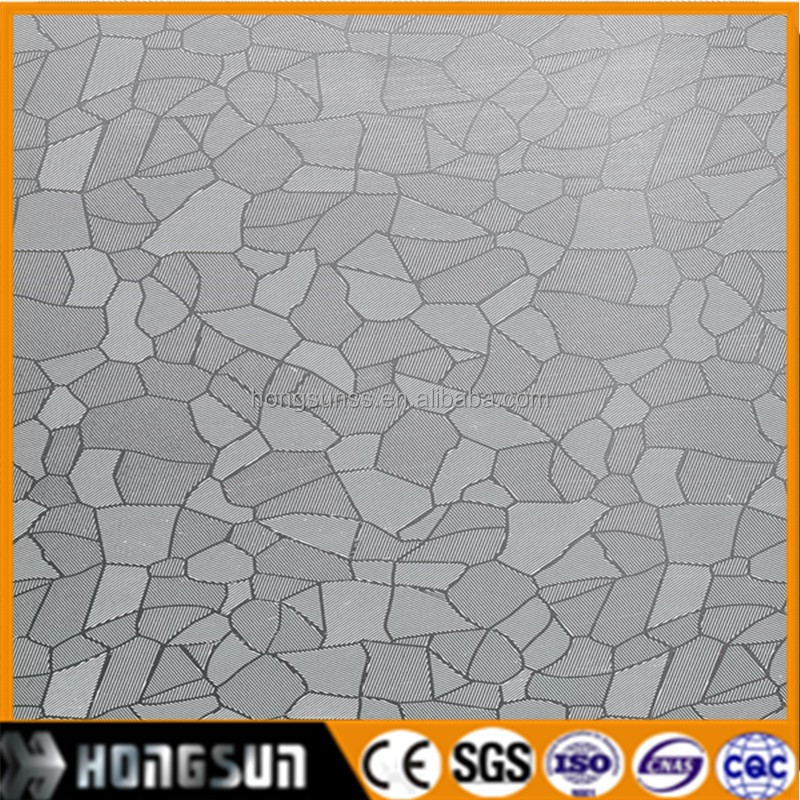201 Cold Roll embossed stainless steel sheet in Foshan