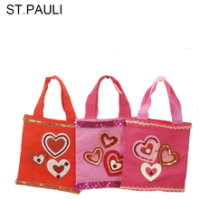 shantou factory felt handle gift bag valentine's day for personalized