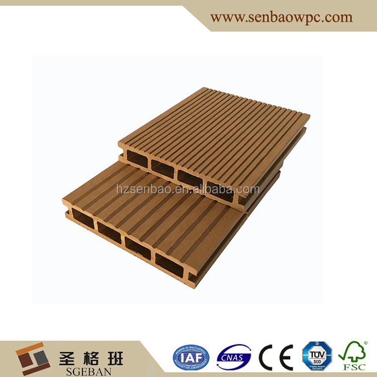 WPC deck outdoor wood polymer composite decking