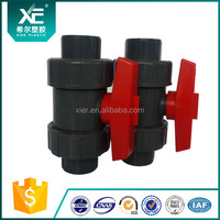 XE pvc (double) ture union ball valves , supplies