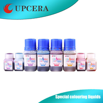 High quality visible coloring liquid with 16 shade