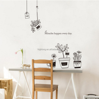 Latest innovative products wall sticker quotes personalised wall stickers