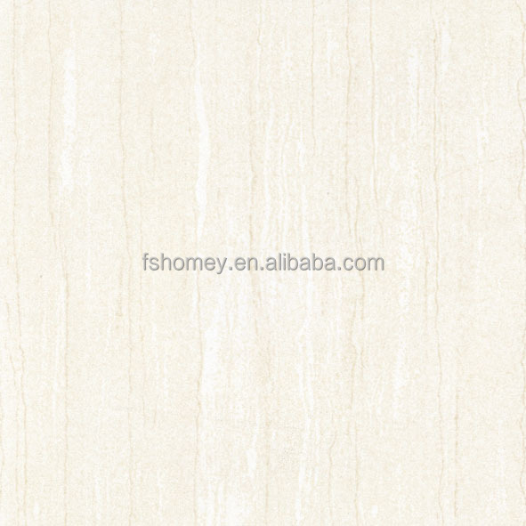 Nano Beige artificial marble soluble salt polishd porcelain tiles for retail store interior design from foshan nanhai