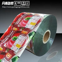 Food Grade Plastic Metalized Flexible Packaging