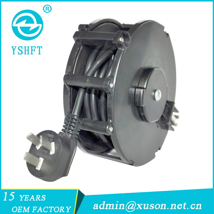 OEM European Auto power cable reel/retractable cord reel