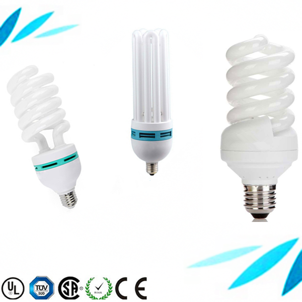 CE ROHS approved 32w 26w T4 220-240V CFL light spiral energy saving lamp saver bulbs