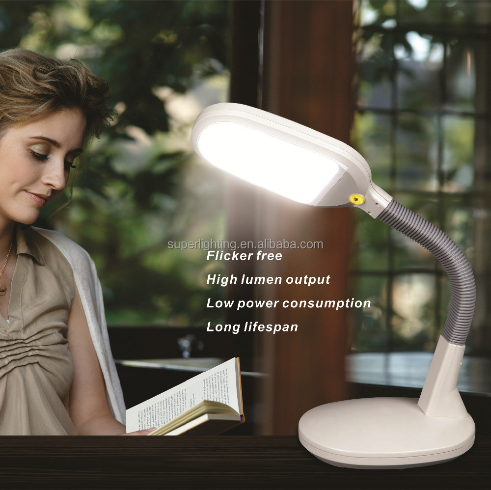 dimmable LED reading table lamp