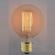 G80 E27 / E26 40w 60W Edison light bulb with vintage light