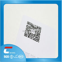 holographic overlay for pvc cards/signature panel for pvc cards/standard size blank pvc id card