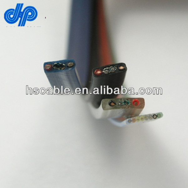 18AWG 22AWG Multicore Shielded Flat Elevator Cable