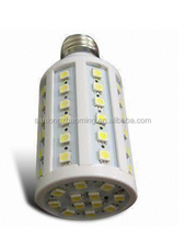 new design 12 volt 44 smd 5050 led corn light bulb e27 8w warm white 1300lm with CE ROHS