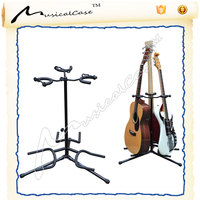 Universal acoustic electric bass guitar dispaly stand