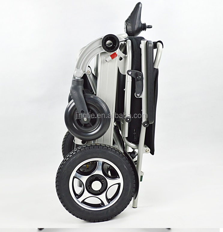 China Top 3 lightweight folding electric wheelchair