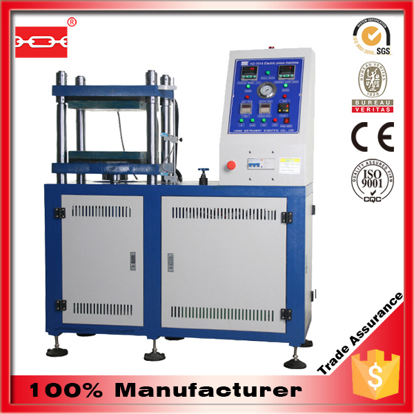 Laboratory Vulcanizing Instrument of Rubber, Plastics, Composites and Laminating