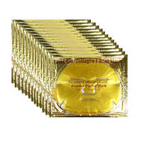 Mendior Pure Gold Bio-collagen facial mask mineral crystal collagen face mask OEM