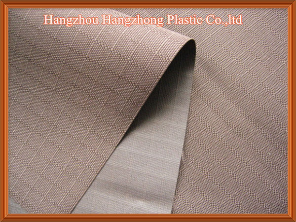Polyester 600D Ripstop Oxford Fabric PU Coated