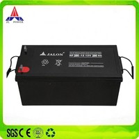 AGM Sealed 12v 250ah lead acid battery Made by Manufacturer