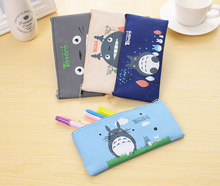 Wholesale bulk cheap promotional cute cool kids custom school pencil case