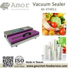 widely use tabletop stainless steel food preservation heat sealer