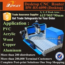 6090 aluminum alloy lathe bed digital CNC router for wood carving price