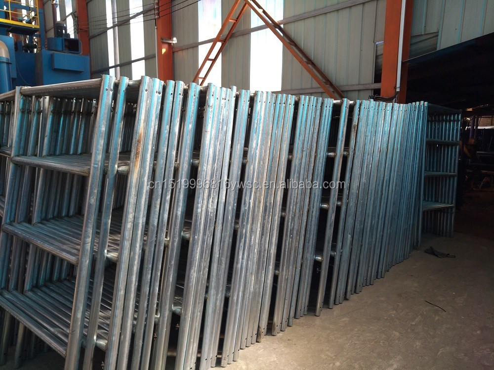 2017 China supplier Cheap h frame construction scaffolding frame Q235 for sale