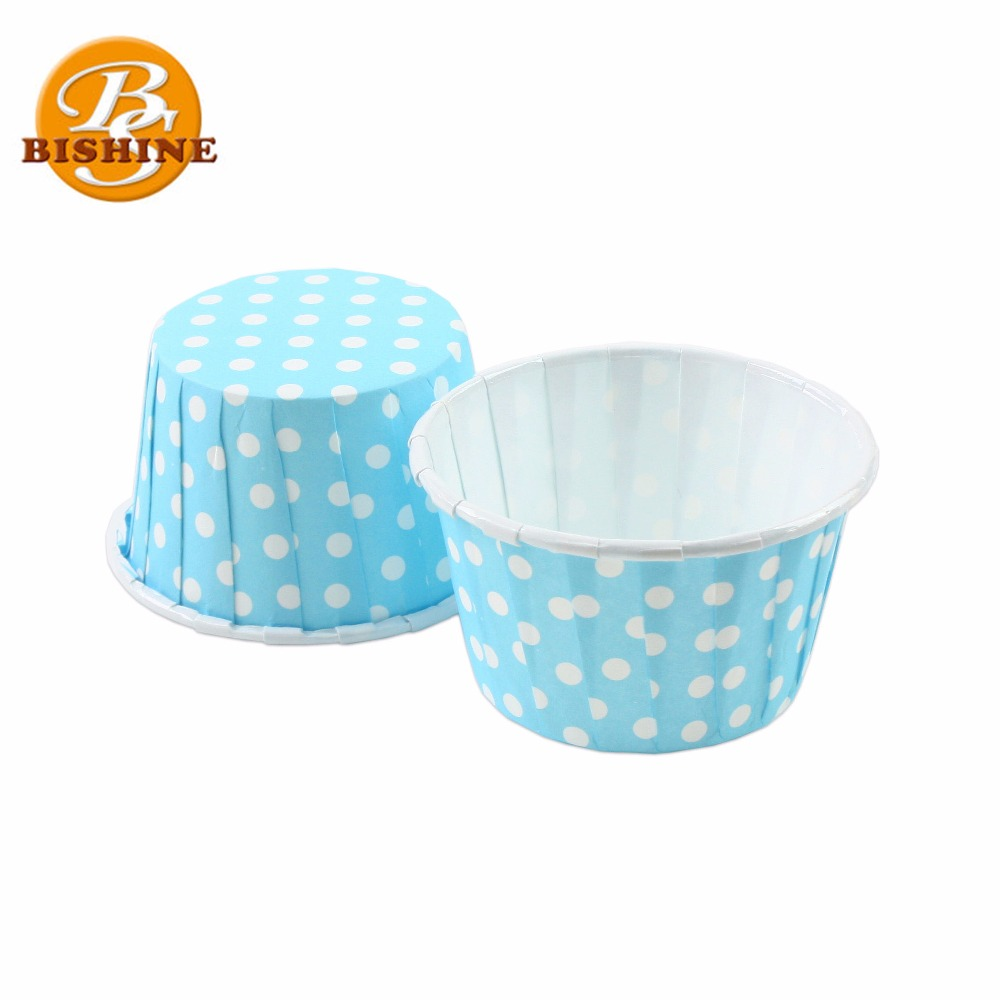 Environmental Bakery Heat Resistant Greaseproof Disposable Roll Mouth Paper Baking Muffin Cup