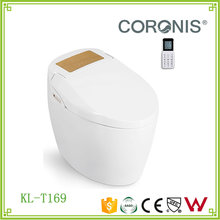Smart wc toilet with auto flush function ceramic american standard electronic bidet smart toilets
