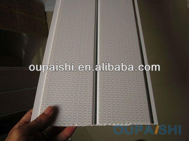 Garaje pvc paneles de pared del pvc lavable hoja de falso for Paneles pvc para paredes