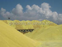 agriculture grade granulated sulphur 99.5% prices