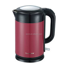 GOOD QUALITY HOT SALE 1.7L DOUBLE WALL STAINLESS STEEL Electric Kettle