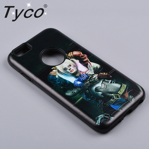 Custom printed back cover phone case for iphone print mobile phone shell