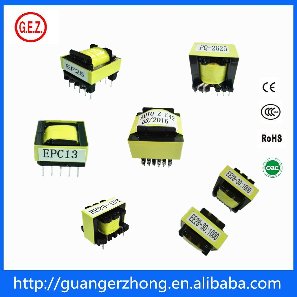 Customized high frequency EFD20 eer transformer