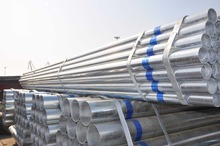 manufacturer of galvanized erw steel pipe building materials made in china
